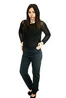 Темно-синие брюки для женщин, фото 1