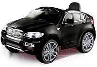 Эл-мобиль T-791 BMW X6 BLACK джип на р.у. 26V7AH мотор 235W с MP3 11773.559 ш.к.