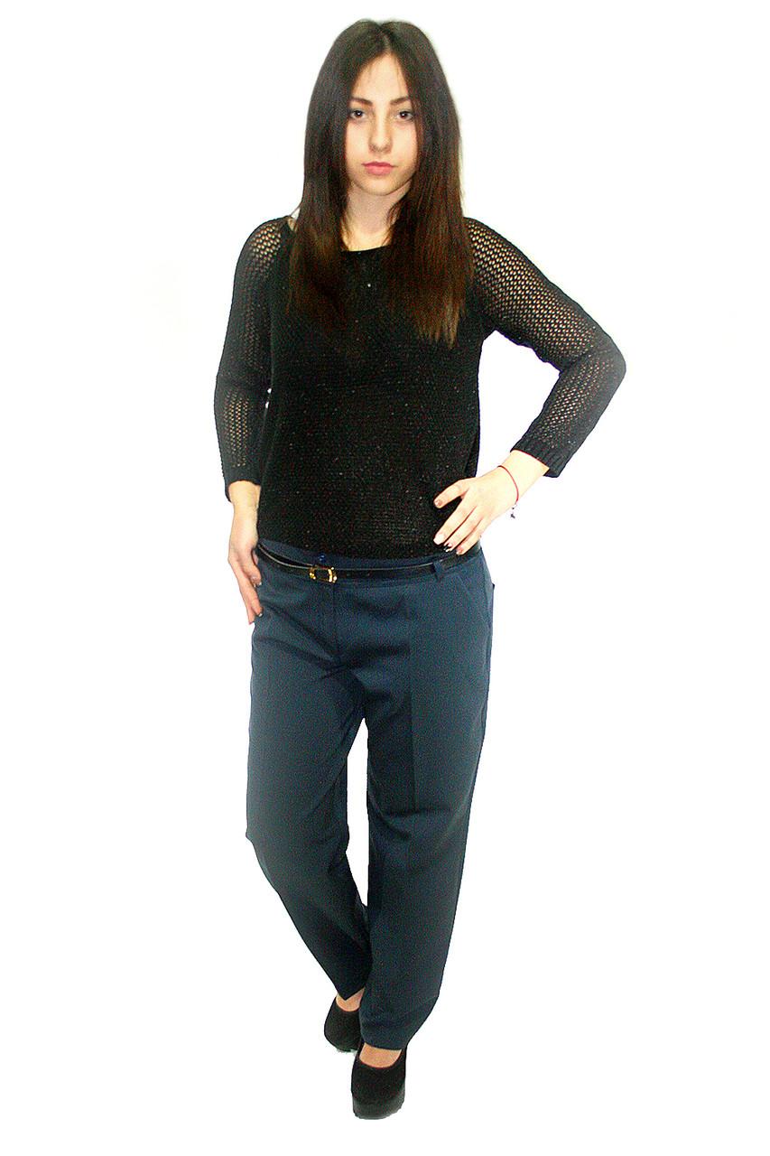 Классические брюки  Oscar Fur ЖБ-9 темно-синий