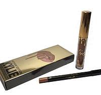Набор для макияжа губ Kylie Lipstick and Lip Liner