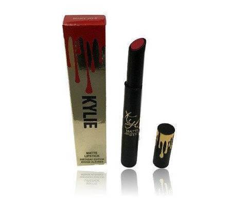 Помада-стик Kylie Matte Lipstick Birthday Edition реплика, фото 2