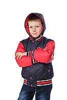 """Куртка весна-осень """"Макс"""" красный"""