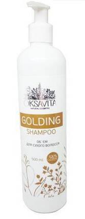 Шампунь для волос Oksavita Golding 500мл, фото 2