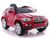 Эл-мобиль T-791 BMW X6 RED джип на р.у. 2*6V7AH мотор 2*35W с MP3 117*73.5*59 ш.к.