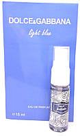 Dolce Gabbana Light Blue pour femme - Mini parfume 15ml