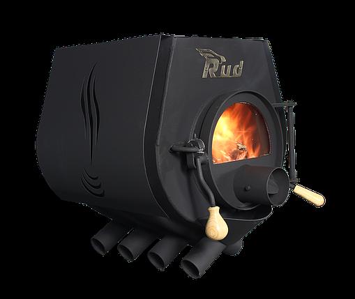 Отопительная конвекционная печь Rud Pyrotron Кантри 03 с варочной поверхностью, фото 2