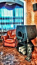 Отопительная конвекционная печь Rud Pyrotron Кантри 03 с варочной поверхностью, фото 3