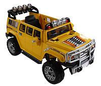 Эл-мобиль T-7814 YELLOW джип на р.у. 26V10AH мотор 235W с MP3 1397875 ш.к.
