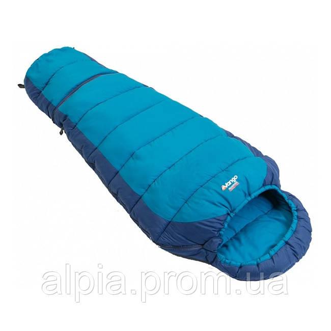 Подростковый спальный мешок Vango Wilderness Convertible/12°C/ River Blue