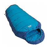 Подростковый спальный мешок Vango Wilderness Convertible/12°C/ River Blue, фото 3