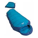 Подростковый спальный мешок Vango Wilderness Convertible/12°C/ River Blue, фото 2