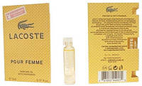 Lacoste pour femme - Parfume Oil with pheromon 5ml