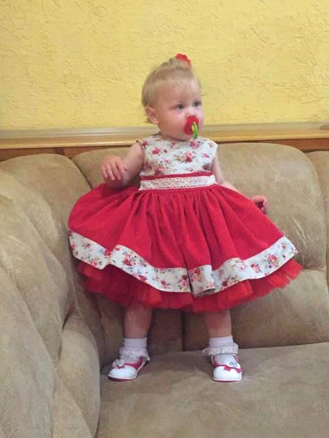 Шикарное платье -1