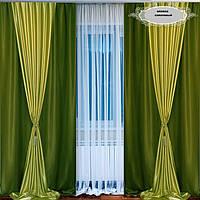 Красивый комплект шторы портьеры