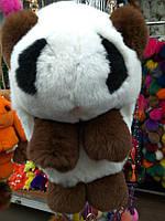 Сумка-рюкзак Панда из натурального меха СУПЕР КАЧЕСТВО(Разные Цвета)