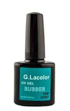 Каучуковое верхнее покрытие для гель-лака G.La Color Rubber Top Coat 10ml - Интернет-магазин Allegoriya в Днепре