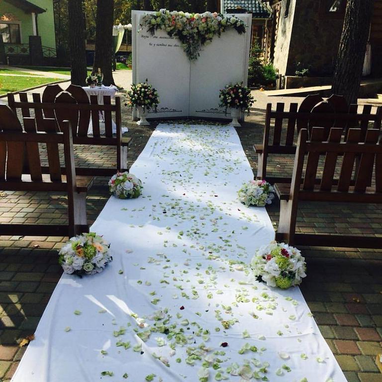 Оформления места проведения свадьбы. Декорирование выездной церемонии. 28