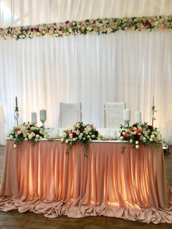 Оформления места проведения свадьбы. Декорирование выездной церемонии. 29