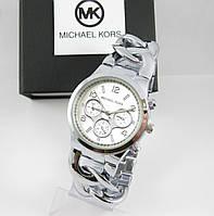 Часы женские Michael Kors Bradshaw Silver Quartz.