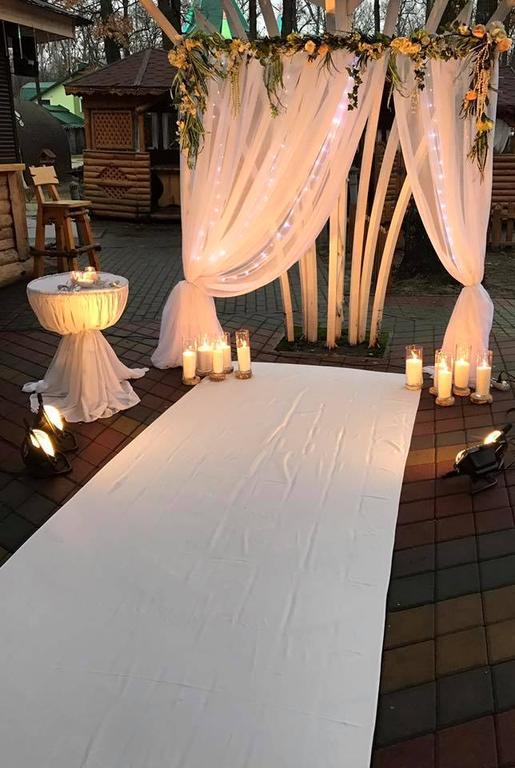 Оформления места проведения свадьбы. Декорирование выездной церемонии. 33