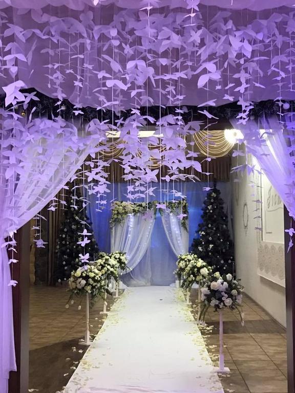 Оформления места проведения свадьбы. Декорирование выездной церемонии. 35