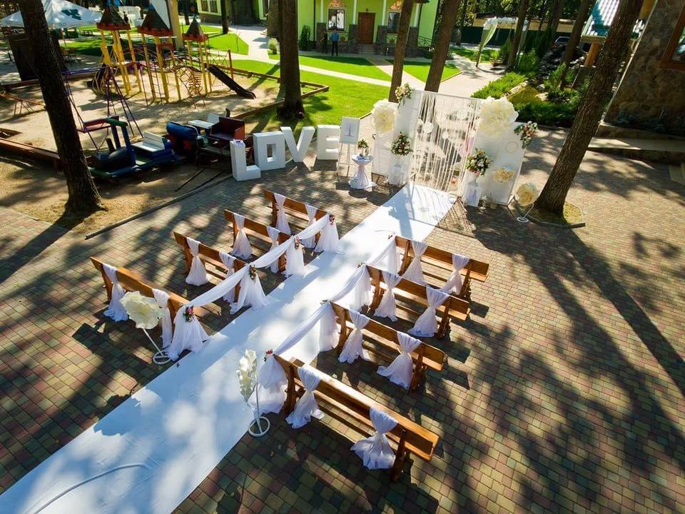 Оформления места проведения свадьбы. Декорирование выездной церемонии. 39
