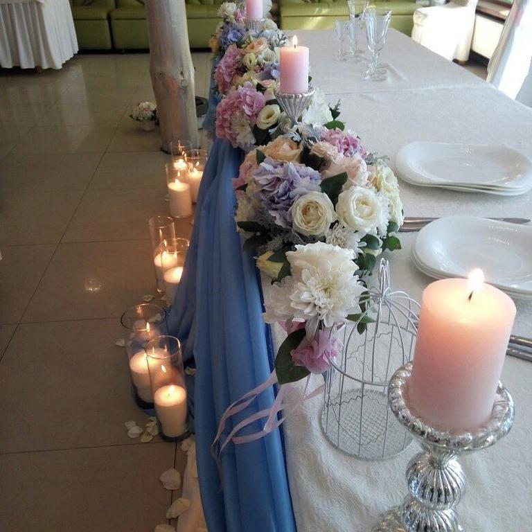 Оформления места проведения свадьбы. Декорирование выездной церемонии. 42