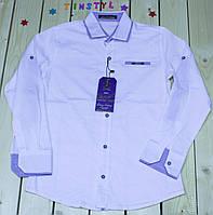 Стильная рубашка  для мальчика на рост 134,158 см, фото 1