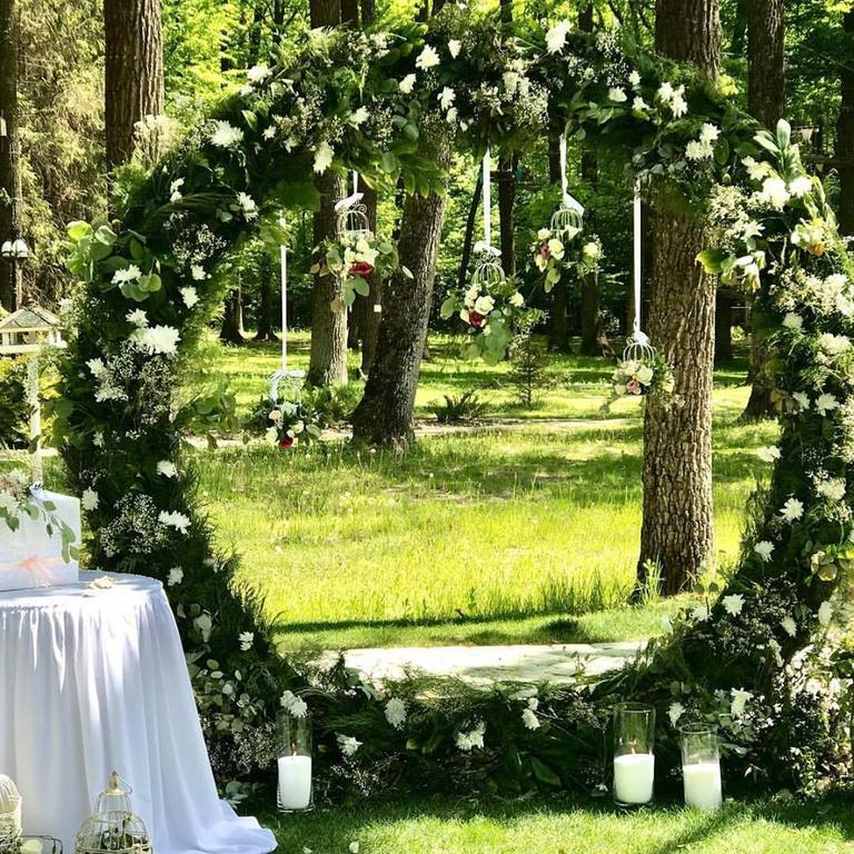 Оформления места проведения свадьбы. Декорирование выездной церемонии. 45