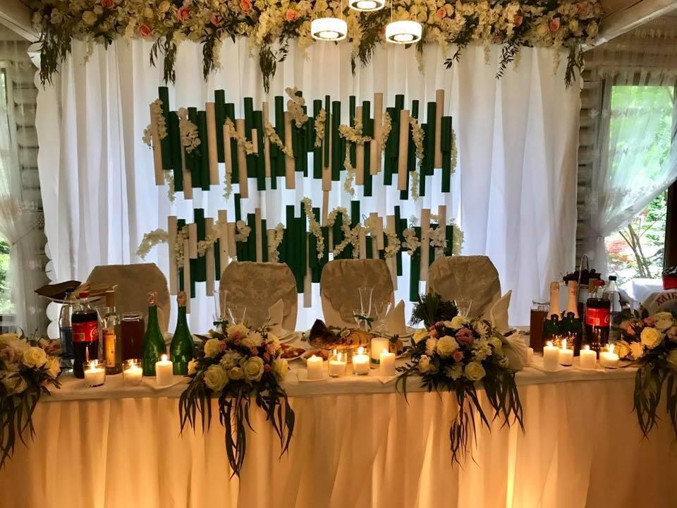Оформления места проведения свадьбы. Декорирование выездной церемонии. 46