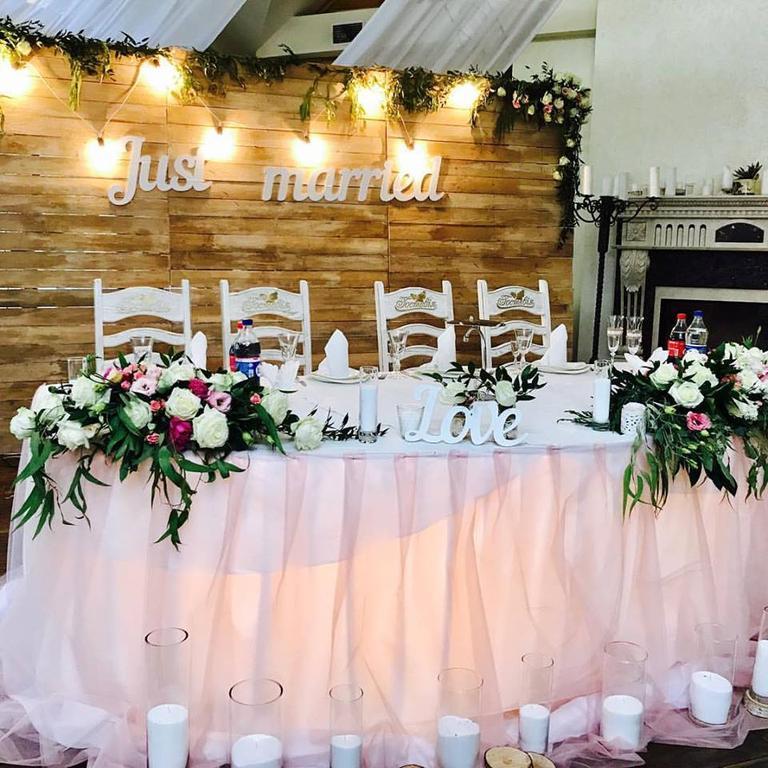 Оформления места проведения свадьбы. Декорирование выездной церемонии. 47