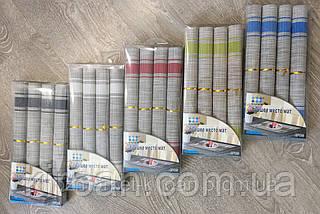 Набор 4 шт Салфетки-подложки для защиты стола (сетка) 30х45см (NS01), фото 3