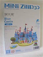 Мини 3d пазл голубой замок