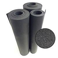 Гумовий килимок 1200х2400х10 чорний
