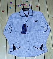Стильная рубашка  для мальчика  (рост 122-158 см) , фото 1