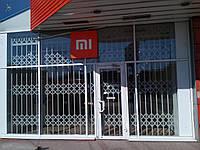 Раздвижные решетки Балкар-Днепр для крупных магазинов , фото 1