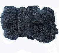 Пряжа для вязания,  черный ПВЧ