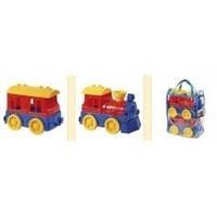 Детская игрушка поезд с пассажирским вагоном