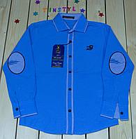Стильная рубашка  для мальчика  (рост 116-128 см), фото 1
