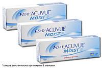 Однодневные контактные линзы 1-Day Acuvue Moist