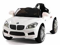 Эл-мобиль T-764 WHITE легковая на р.у. 6V4.5AH мотор 1*20W с MP3 105*60*50 ш.к.