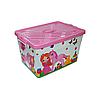Ящик для игрушек\белья на колесах Плетенка, фото 2