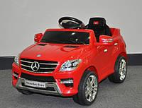 Эл-мобиль T-792 Mercedes ML 350 RED легковая на р.у. 6V7AH мотор 115W с MP3 956052 ш.к.