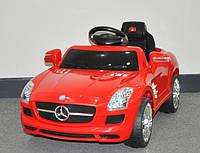 Эл-мобиль T-793 Mercedes SLS AMG RED легковая на р.у. 6V7AH мотор 115W с MP3 1086249 ш.к.