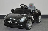Эл-мобиль T-793 Mercedes SLS AMG BLACK легковая на р.у. 6V7AH мотор 115W с MP3 1086249 ш.к.