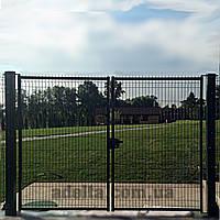 Распашные ворота 3D, Шир.3000хВыс.2030мм, фото 1