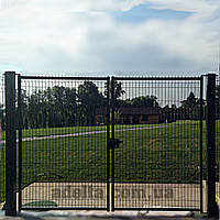 Распашные ворота 3D, Шир.3000хВыс.2430мм, фото 1