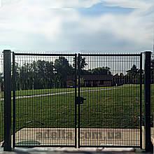 Распашные ворота 3D, Шир.3000хВыс.1480мм