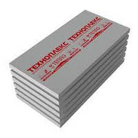 Экструзионный пенополистирол для теплоизоляции ТехноНИКОЛЬ XPS ТЕХНОПЛЕКС L 1180x580x50