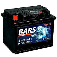 Автомобильный аккумулятор BARS Silver 60Ач 530А (0) R